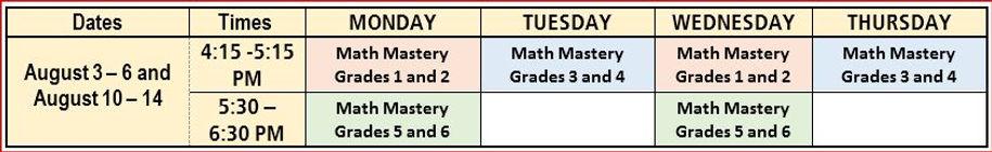 Math Mastery Schedule.JPG