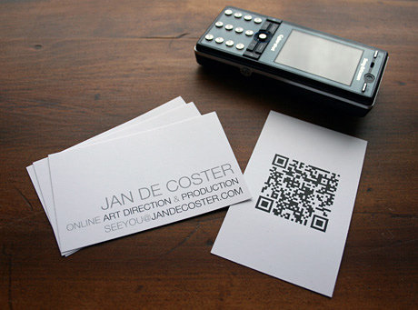 Quick Response Cards (QR Cards)