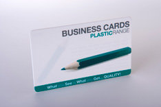 Plastic Business Card Range