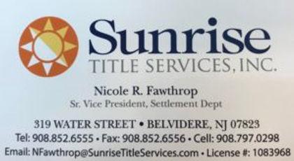 Sunrise Title Services