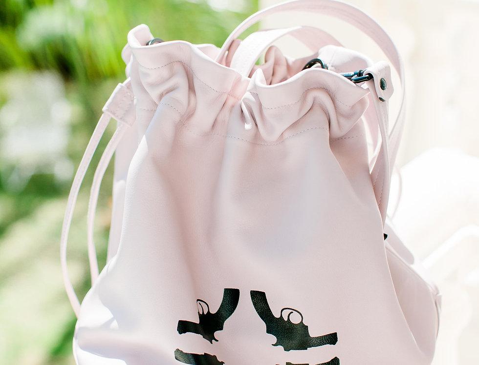 Yacht bag dusty pink