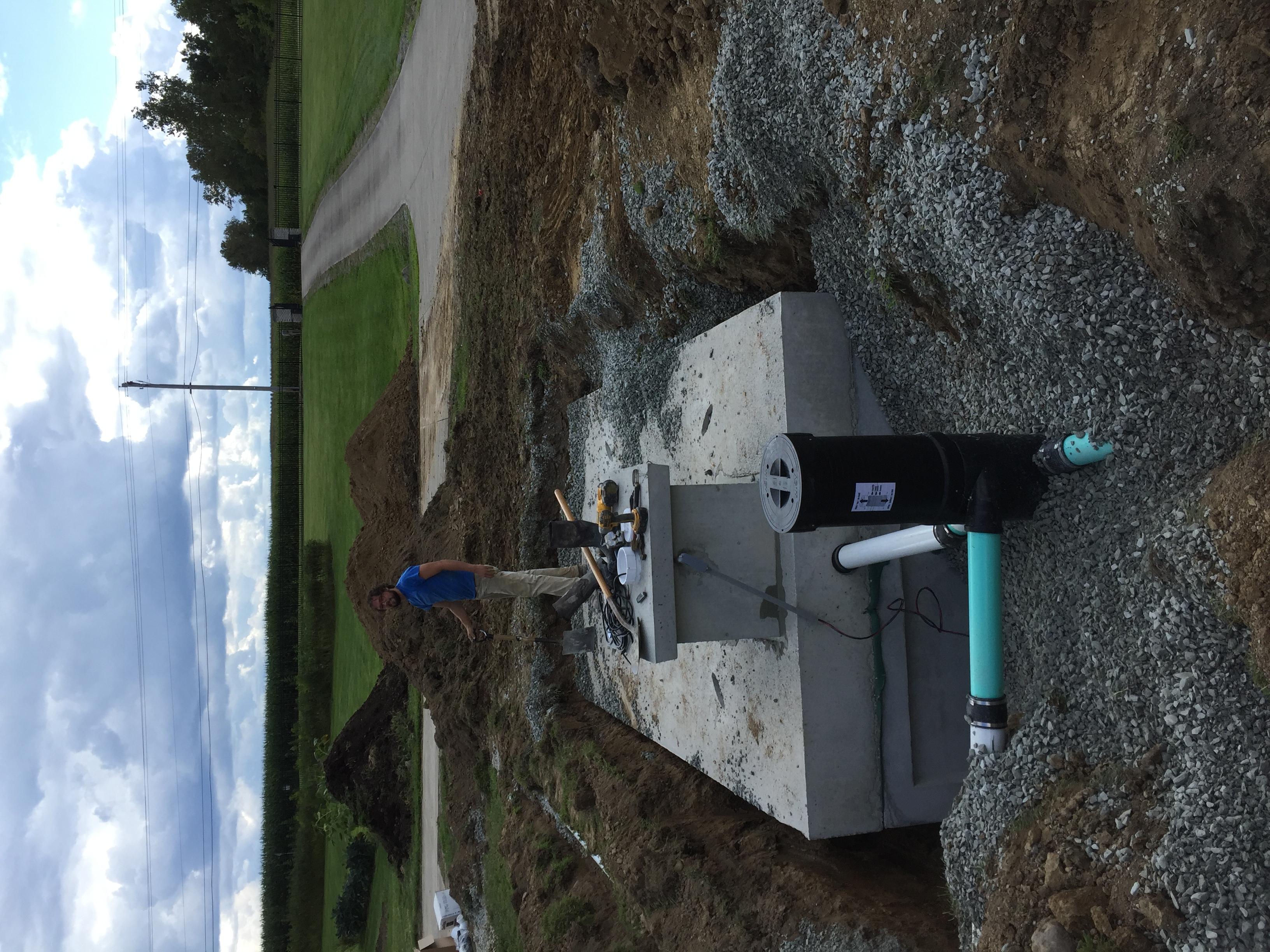Concrete Cistern Wisy Vortex Filter