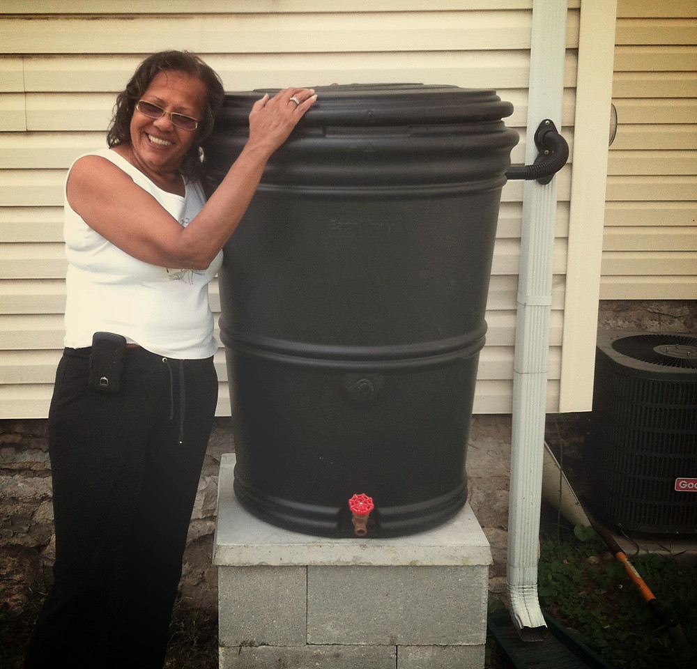 Columbus, Ohio rain barrel program