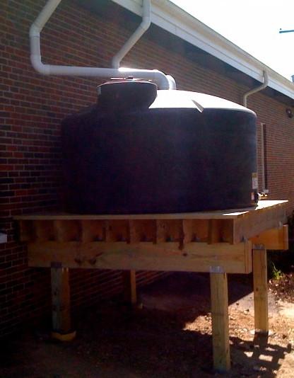 water tank platform elevate