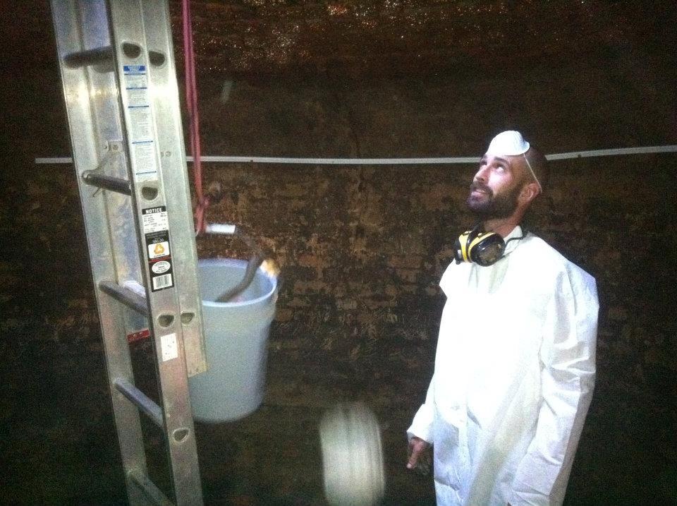 brick cistern restoration