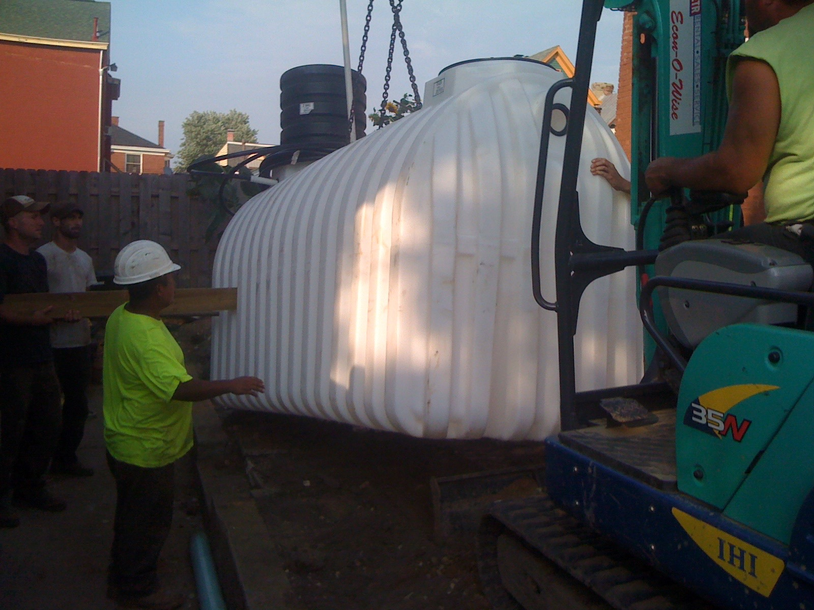 Norwesco Below-Ground Tank Install