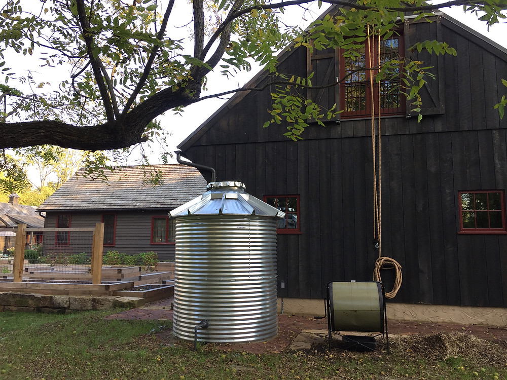 corrugated galvanized steel water tank
