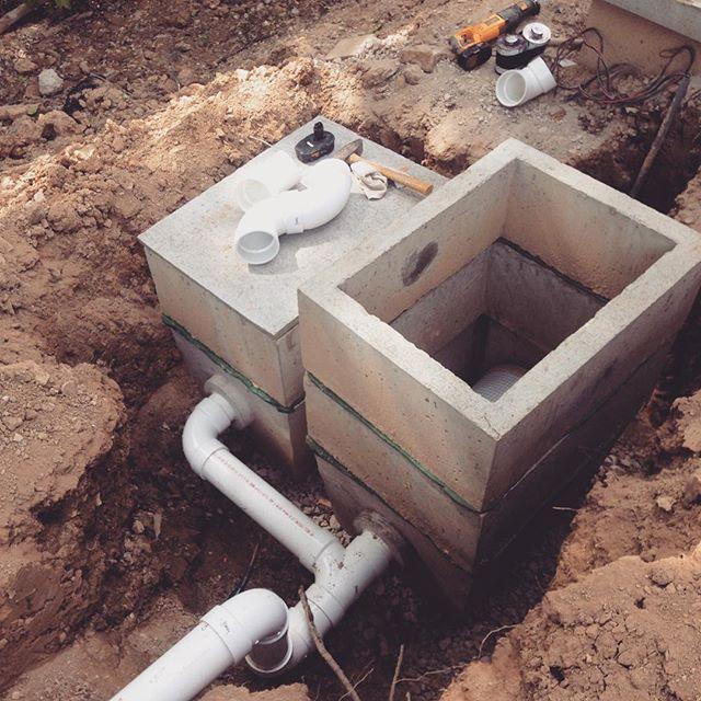 Cistern pre-filter install, Canal Winchester, OH #rainharvesting #rainharvest #cistern