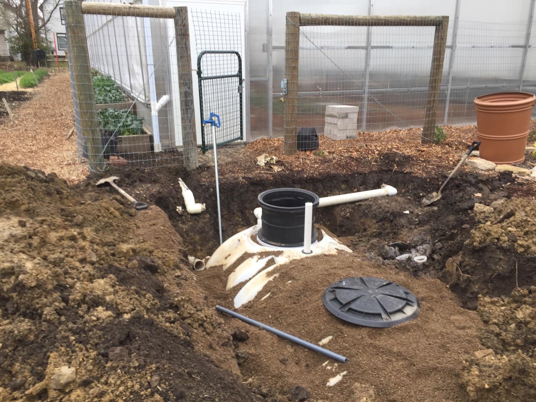 Poly-underground-cistern