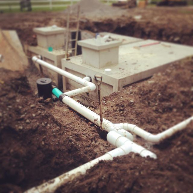 11,000-gallon drinking water system install in Hancock County, Ohio #rainharvesting #rainharvest #ci