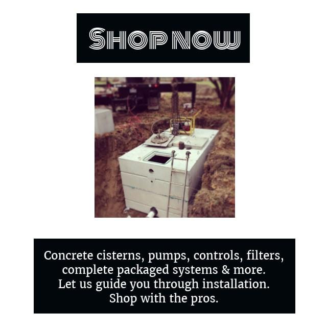concrete cistern tank shop now