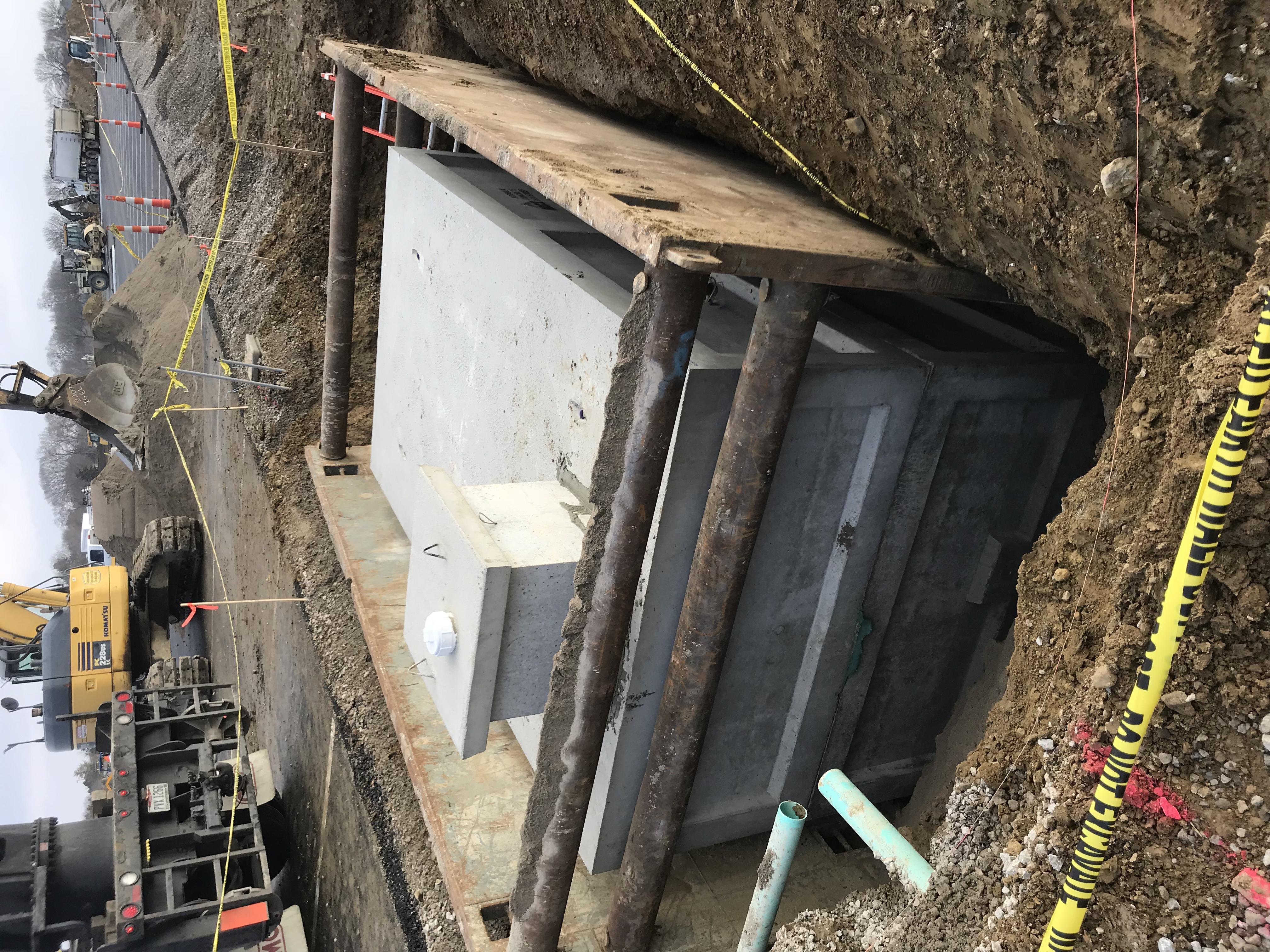 Concrete Rain Cistern Dublin