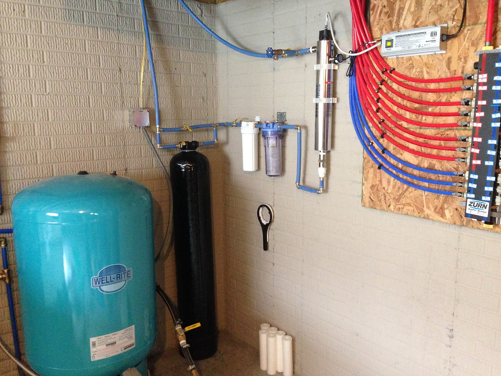 rainwater collection system filtration