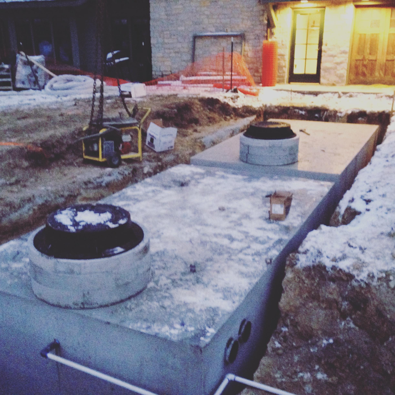 Cox Arboretum Concrete Cistern