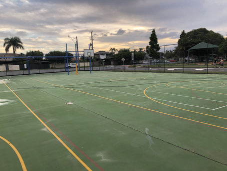 Tennis Court Cleaning