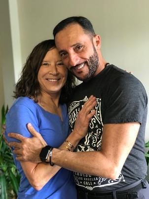 Stefano always gets the best hugs