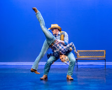 Dancing with the Stars country swing dance