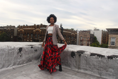 Rooftop Series No. 3: Plaid & Boujee!