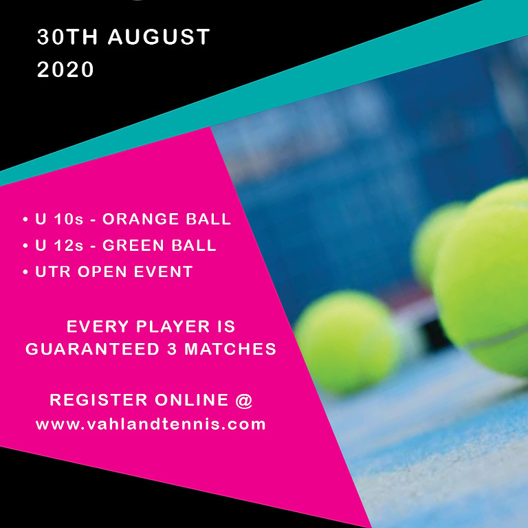 Vahland Tennis Academy UTR Winter Series #3