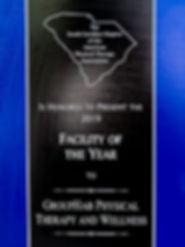 SC Clinic of the Year Award