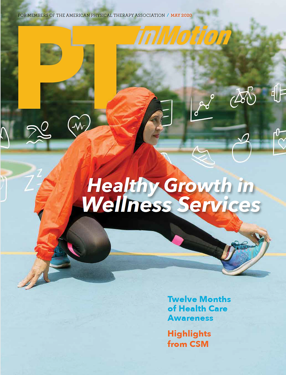 GroupHab model of physical therapist designed and led fitness classes and wellness services featured by the American Physical Therapy Association PT in Motion professional magazine