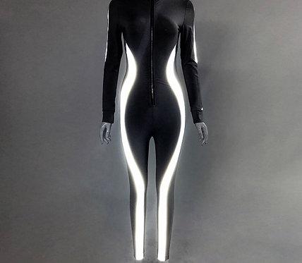 Hot Girl Jumpsuit - Black