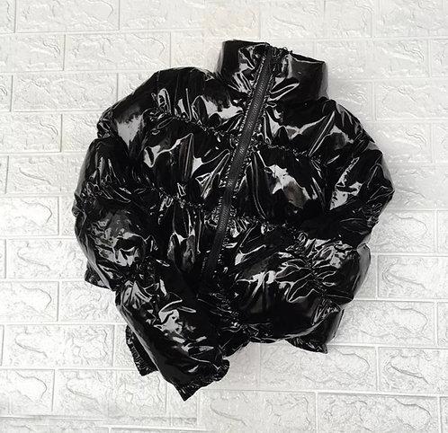 BO$$Y Bubble Coat - Black
