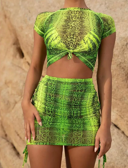 Baddie Cover up - Green