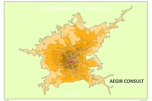 Pathways in the City