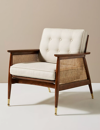 Nadia Caned Chair - Anthropologie