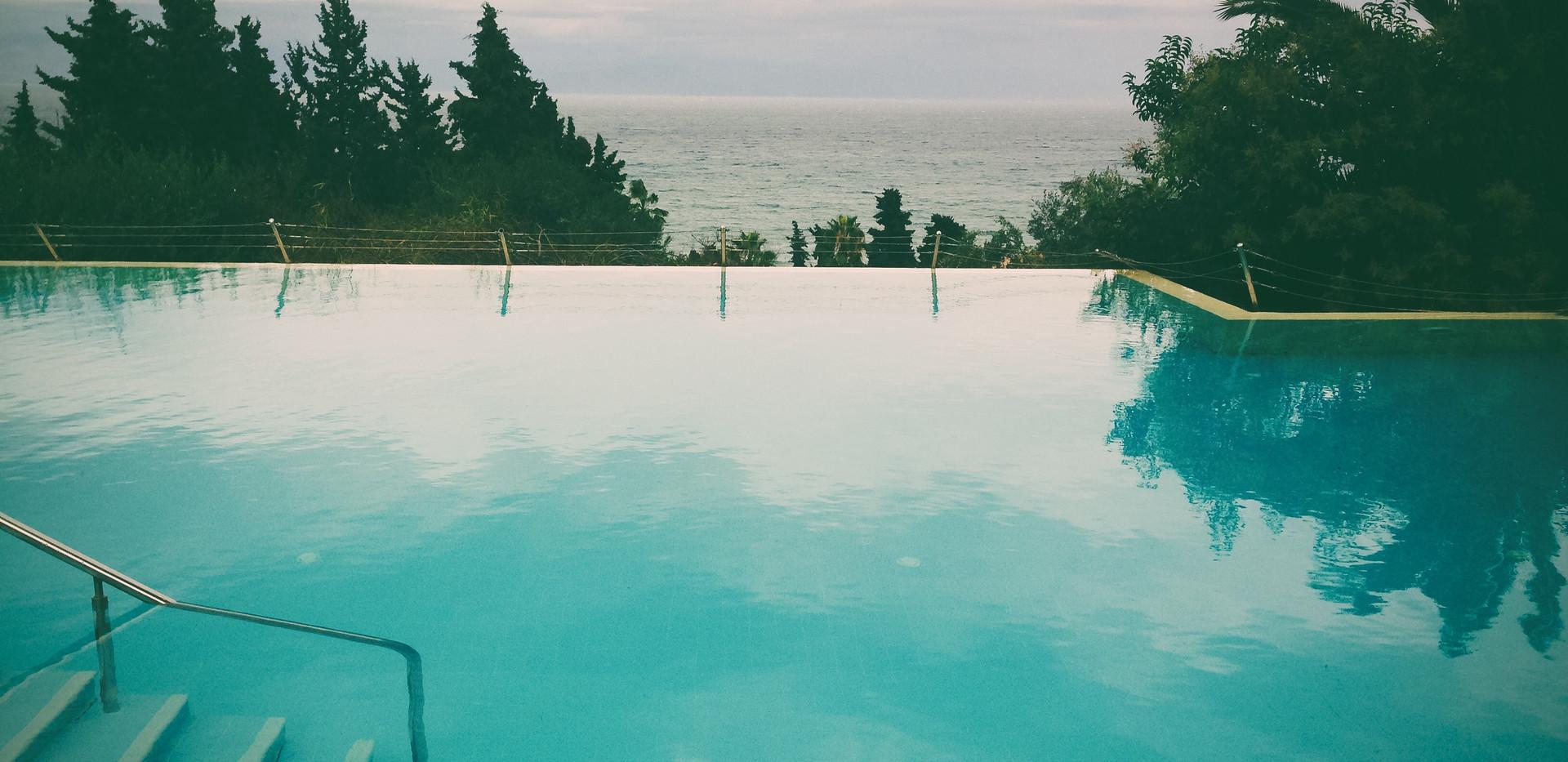 Ocean Modern Home Pool