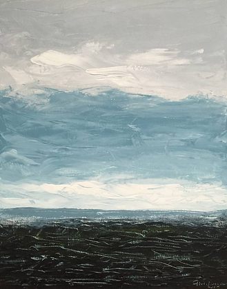 Landscape with Clouds | 16 x 20