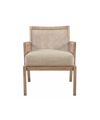Kelly Cane Accent Chair - Designer Living