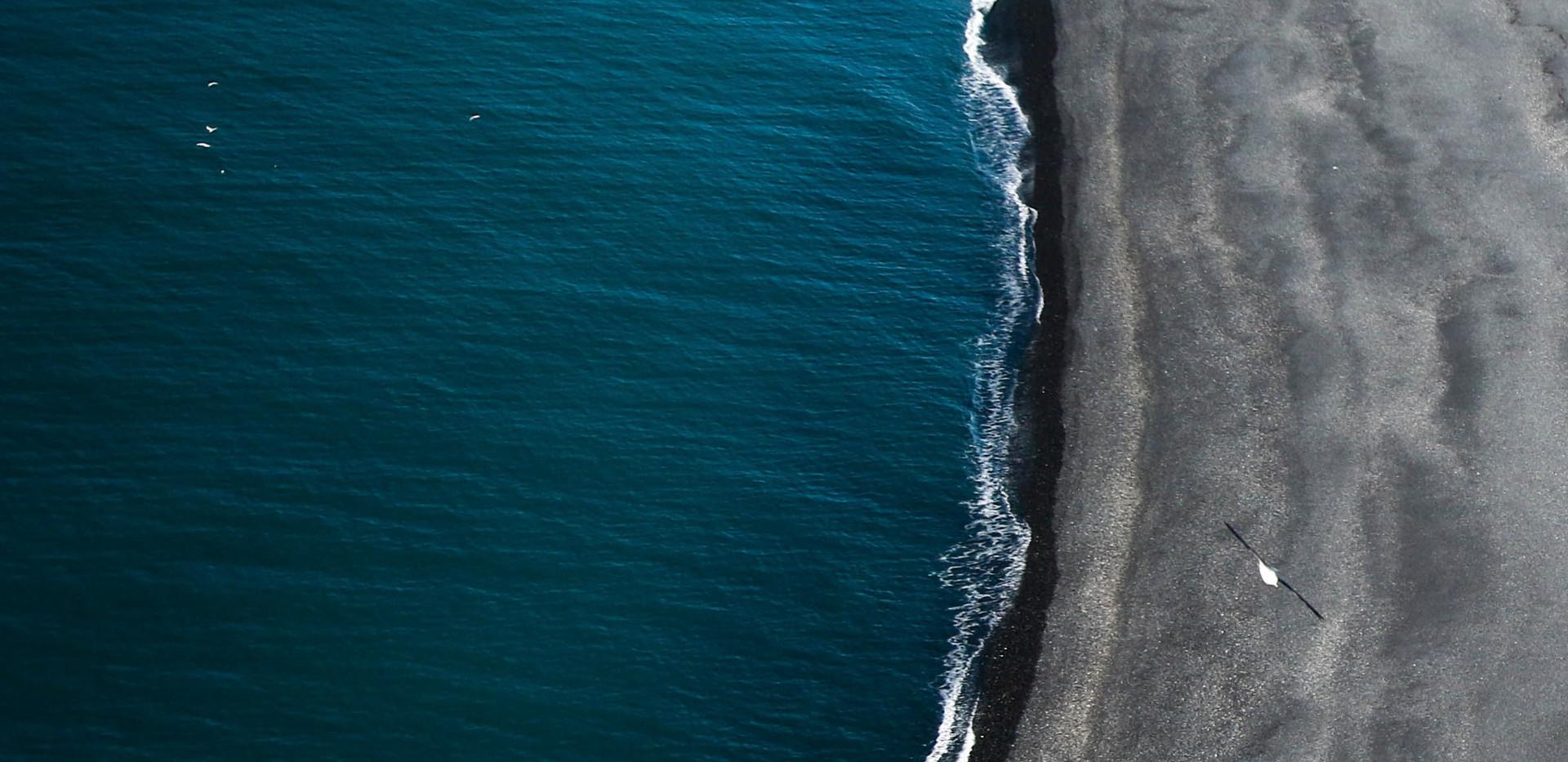 Ocean Arial Photo