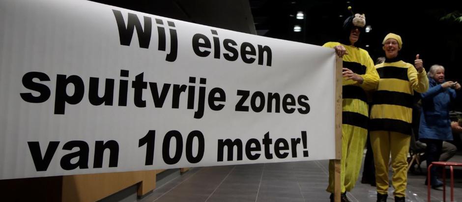 Petitie voor 100 meter spuitvrije zones