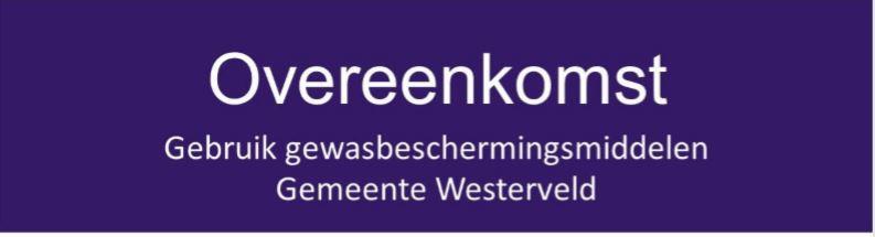 College Westerveld sluit convenant met bollentelers