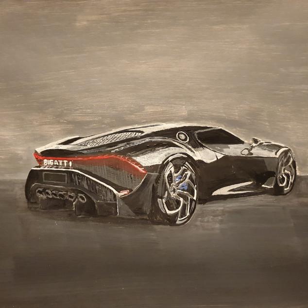 Bugatti La Voiture Noire 2019, A3 size,original £550, print £75