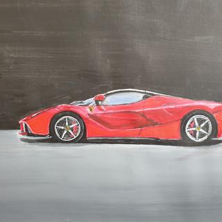 2014 LaFerrari, A3 size, original £SOLD, print £75