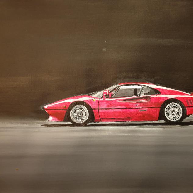 Ferrari 288GTO 1985, A3 size, original £550, print £75