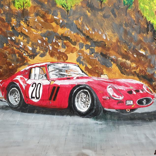 Ferrari 250GTO 1962 Chassis #4757, A3 size, original £550, print £75