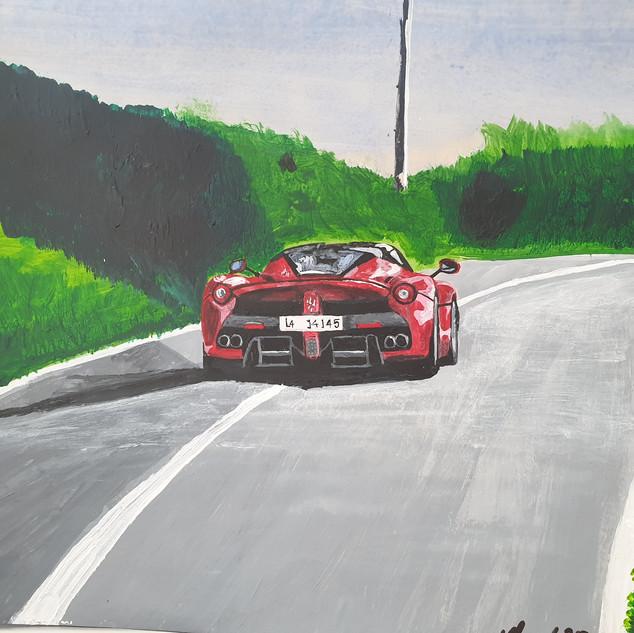 LaFerrari near Fiorano Circuit, Italy, 2014, A3 size, original £550, print £75