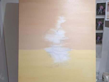 Painting in the basic background