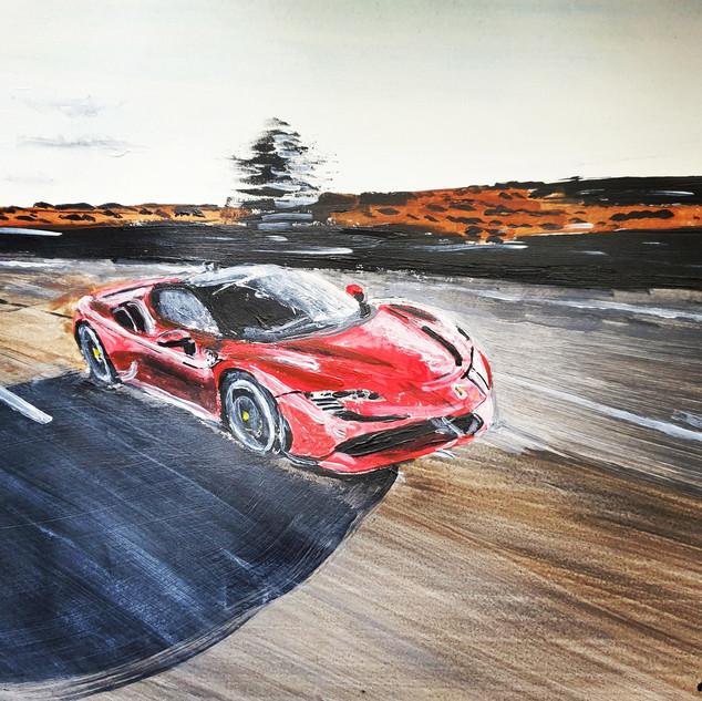 Ferrari SF90, A3 size, original £550, print £75