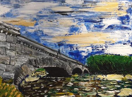 Made Kew Bridge more abstract