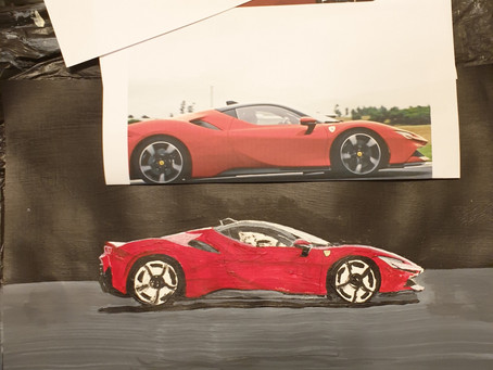 Working on the SF90 Stradale new hybrid out next year