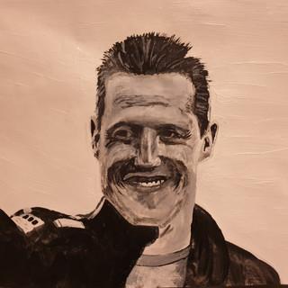 Michael Schumacher, A3, original £550, print £75