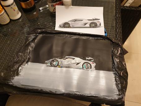 Koenigsegg Jesko taking shape