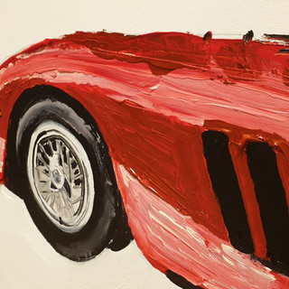 Objects of Desire 2; Ferrari 250GTO close up 1