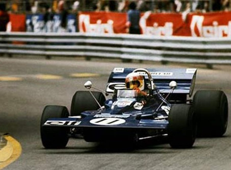 Then I'll paint Jackie Stewart at Monaco 1971
