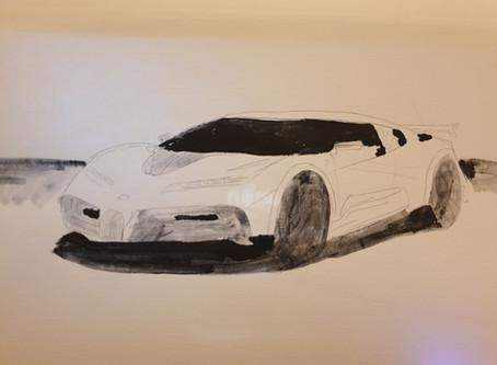 Bugatti 110 in the works